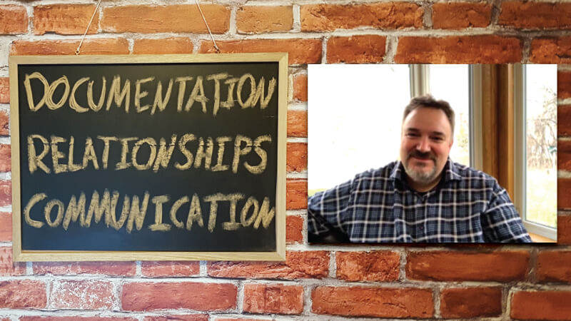 #11 - Justin Jones: Documentation, Relationships and Communication