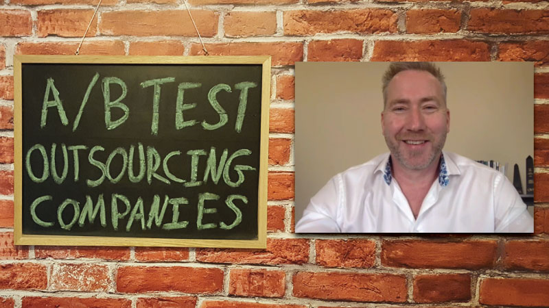 #18 - Mark Jamieson: A/B Test Outsourcing Companies