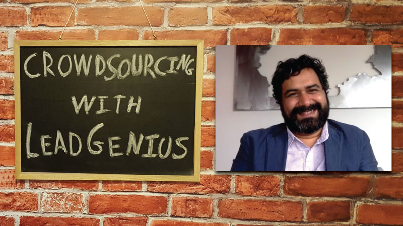 #33 - Prayag Narula / Crowdsourcing With LeadGenius