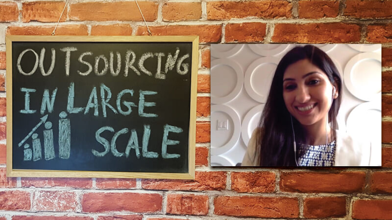 #5 - Interview with Ruby Mehta on Outsourcing in Large Scale