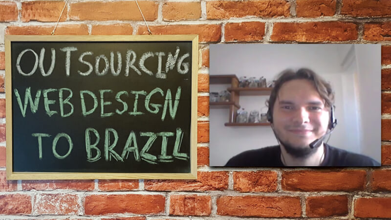 #6 - Interview with Tiago Tavares on Outsourcing Webdesign to Brazil